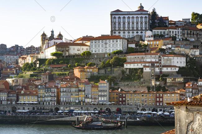 June 29, 2019: Gaia and Douro river- Porto- Portugal