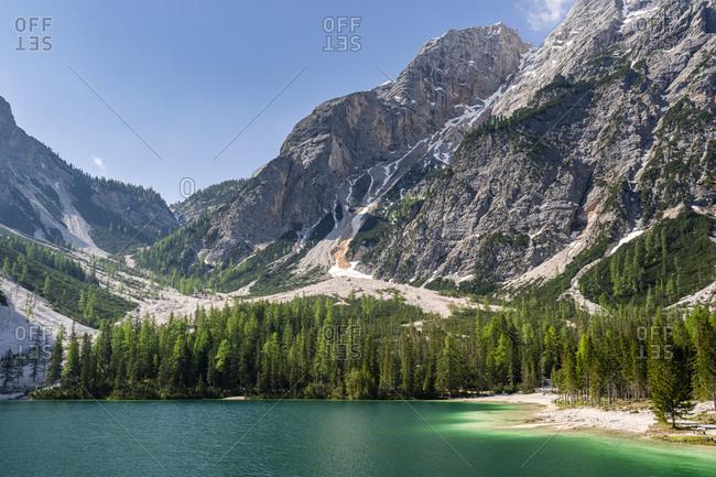 Pragser Wildsee- Braies Dolomites- Alto Adige- Italy