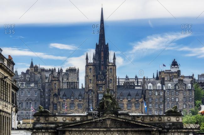 June 26, 2018: UK- Scotland- Edinburgh- view to the city