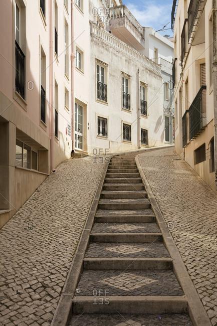 Alley in old town- Lagos- Algarve- Portugal