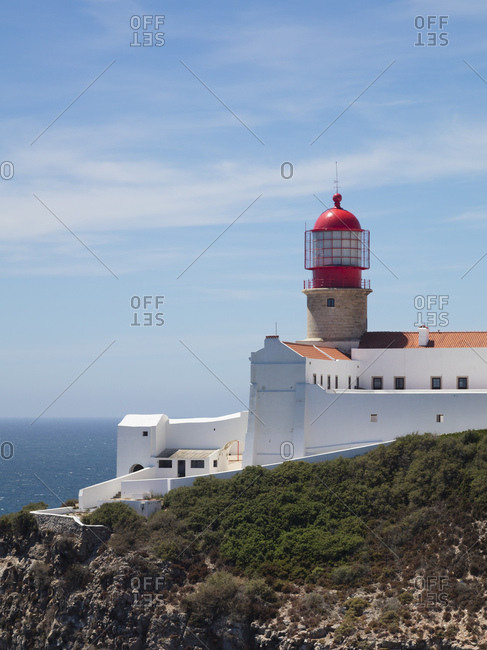 Lighthouse at Cabo de Sao Vicente- Sagres- Portugal