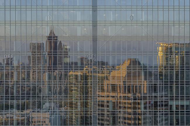 Building Reflections, Midtown, Atlanta, Georgia