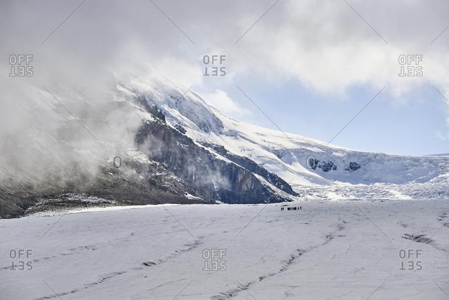 Athabasca Glacier, Ice field Parkway, Jasper National Park, Alberta, Ca