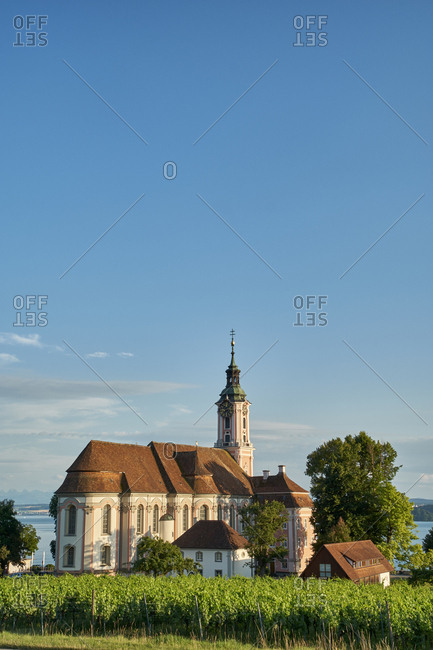 Germany- Baden Wuerttemberg- View of Birnau Basilica