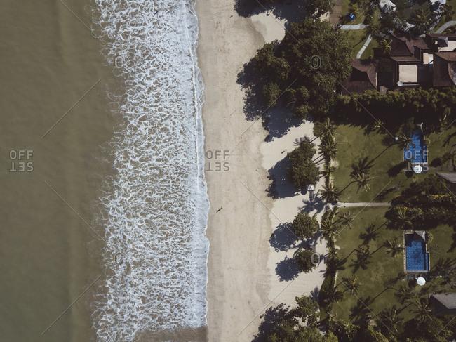 Jimbaran beach and beachside resorts, Bali, Indonesia