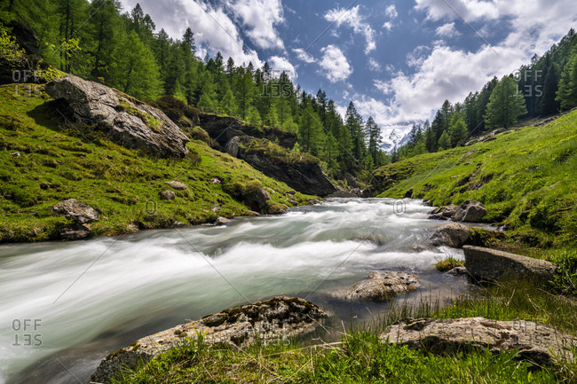 Brook in Passeier Valley- Alto Adige- Italy