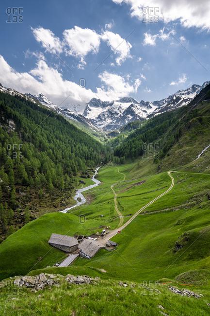 Mountain hut at Passeier Valley- Alto Adige- Italy