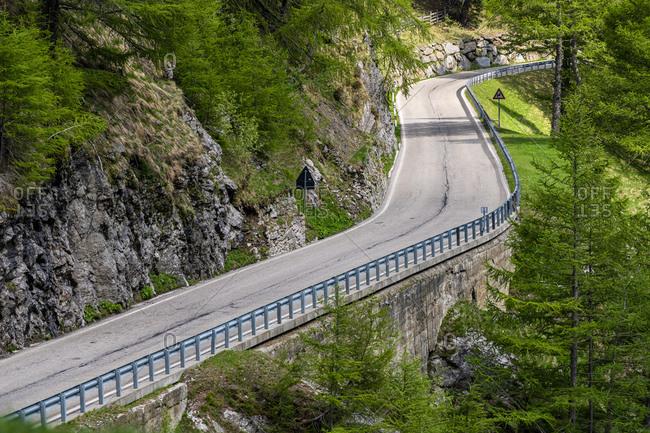 Timmelsjoch mountain pass- Passeier Valley- Alto Adige- Italy