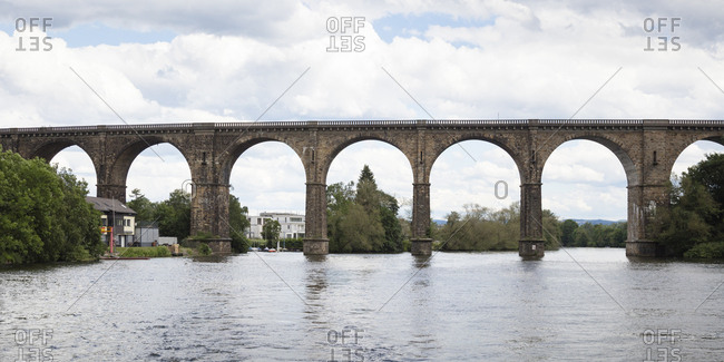 Viaduct over River Ruhr- Herdecke- Germany