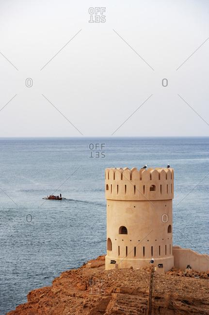 Defense tower- Sur- Oman - Offset