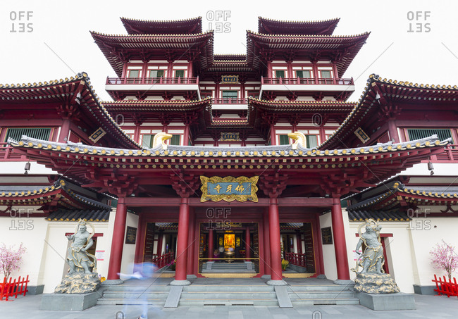 February 18, 2017: Buddha Tooth Relic Temple- Singapore
