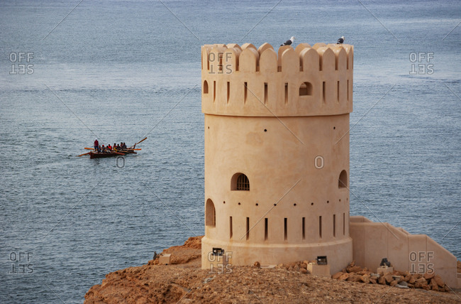 February 28, 2019: Defense tower- Sur- Oman