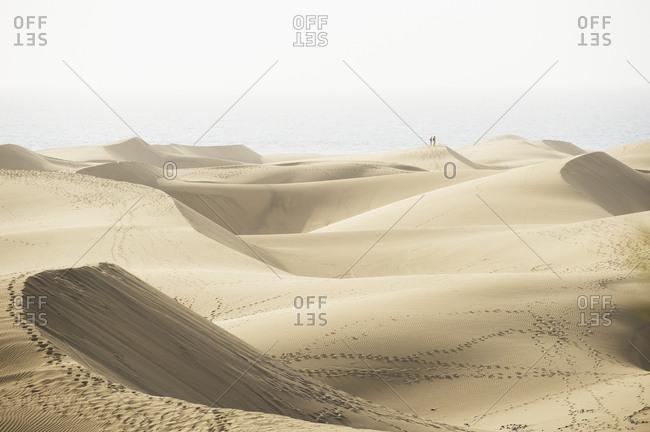 Maspalomas Dunes on Gran Canaria,  Canary Islands