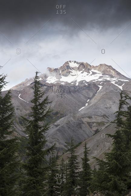 Peak in Mount Hood National Forest in Oregon