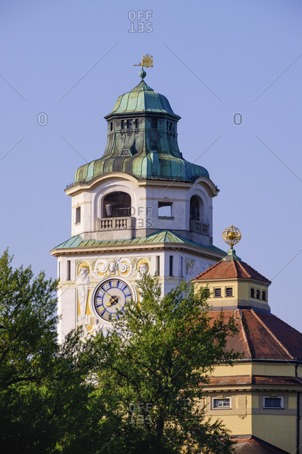 Germany- Upper Bavaria- Munich- Tower ofĘMullerschesĘVolksbad