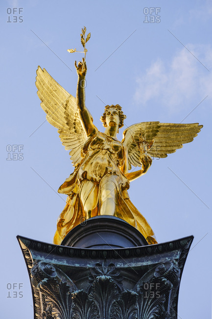 Germany- Upper Bavaria- Munich- Angel of Peace in Bogenhausen
