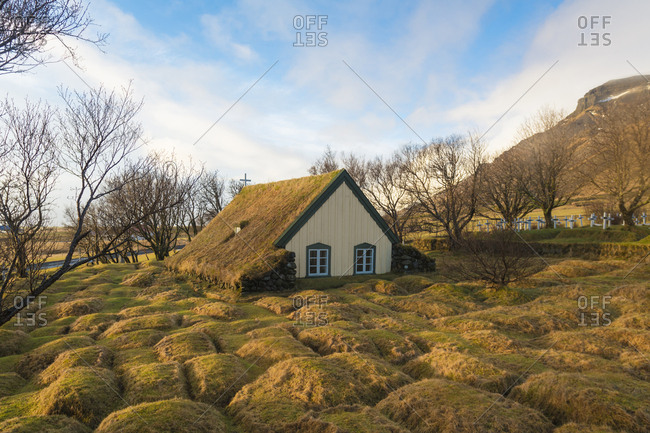 Iceland- Southern Iceland- Hof- Hofskirkja Church
