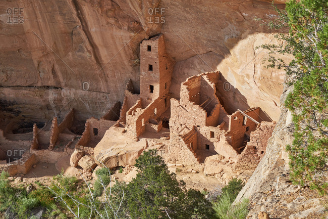 Cliff Palace, Mesa Verde National Park in Colorado
