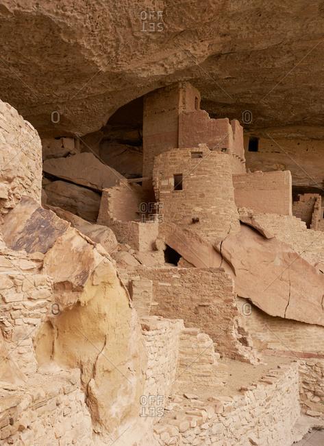 The Cliff Palace, Mesa Verde National Park, Colorado