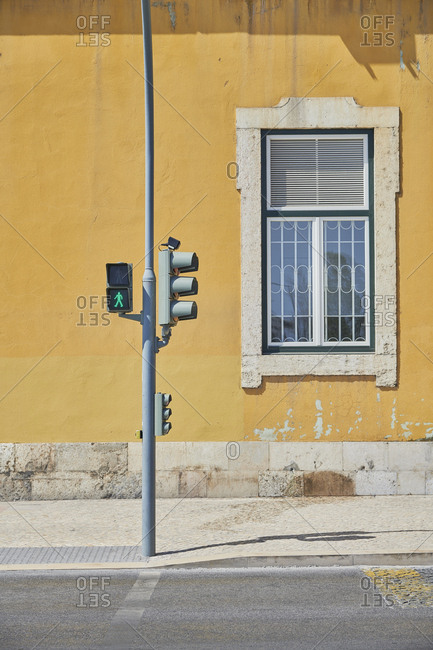 Pedestrian traffic lights in Lisbon, Portugal
