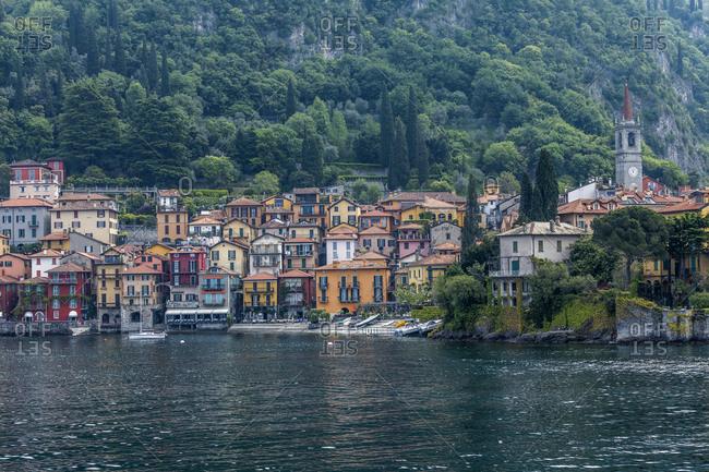 Town of Varenna by Lake Como, Italy