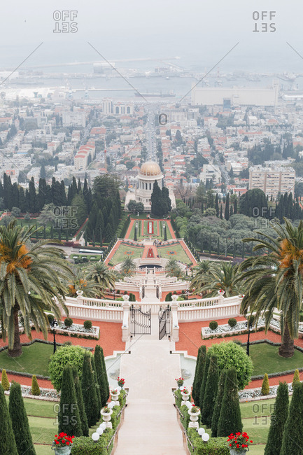 The Bahai Gardens, Haifa, Israel