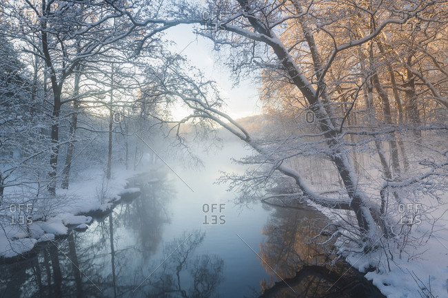 River at winter - Offset Collection