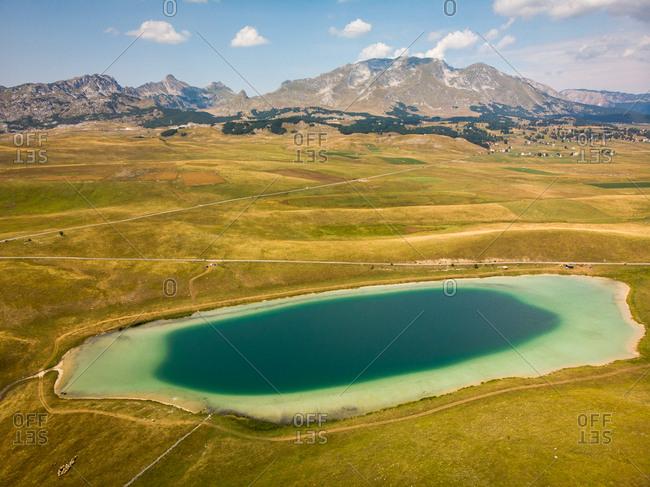 Vrazje jezero (Devils Lake), a glacial reservoir in Durmitor, Montenegro