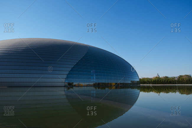 Beijing - September 11, 2019: National grand theatre