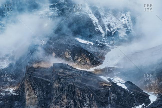 DaoCheng YaDing snowy mountain in Sichuan