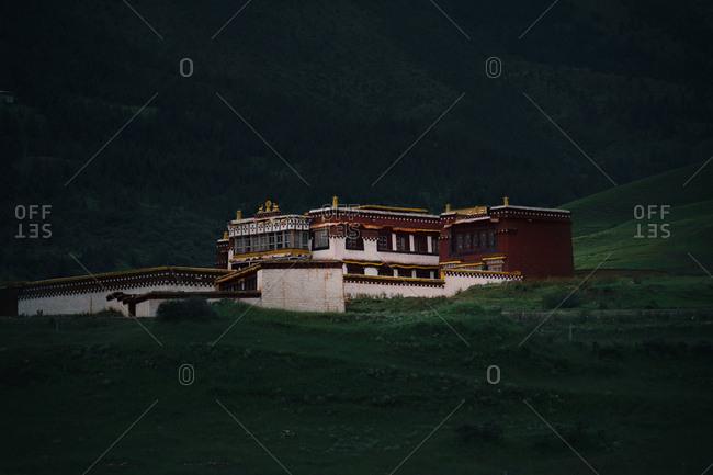 Western Sichuan Tibetan village