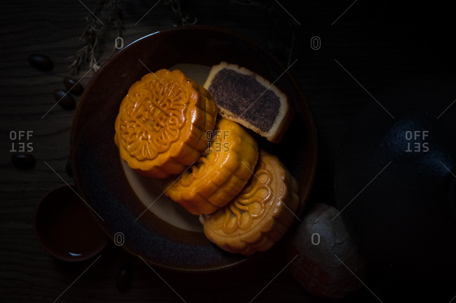 The moon cake