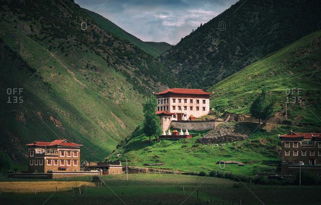Sichuan Tibetan village