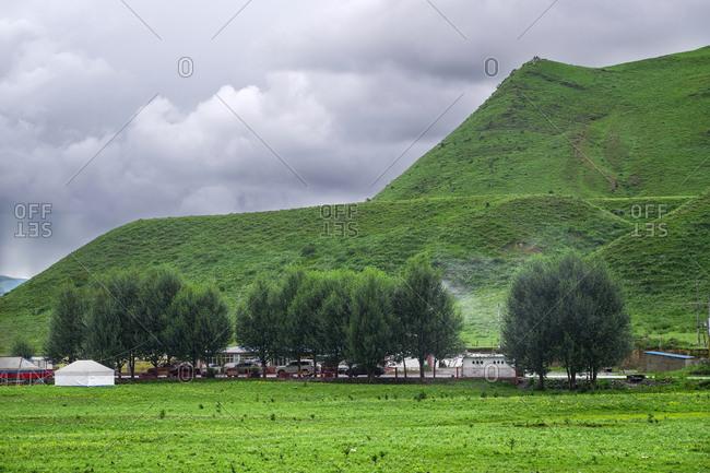 Western sichuan scenery