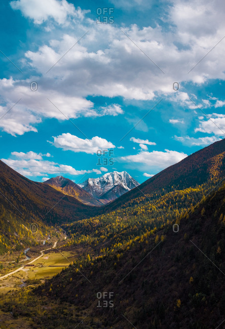 Western sichuan scenery