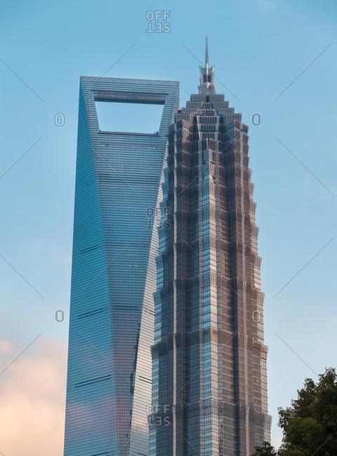 September 11, 2019: Lujiazui, Shanghai lujiazui financial center