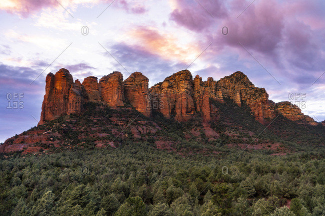 View from soldier pass Sedona