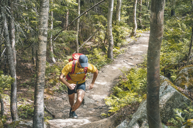 Long distance trail running