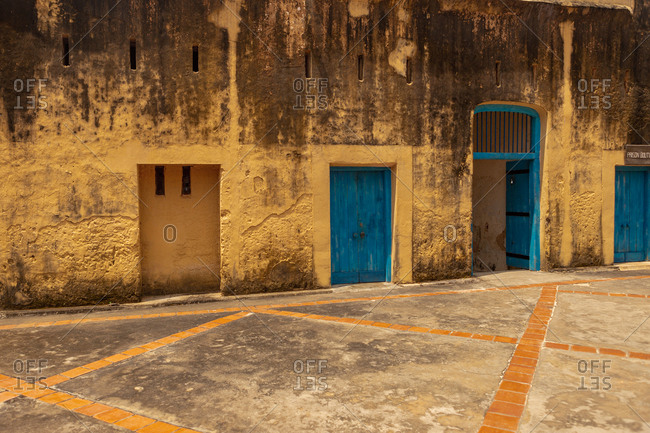 October 9, 2017: Prison island in zanzibar, Africa, Tanzania