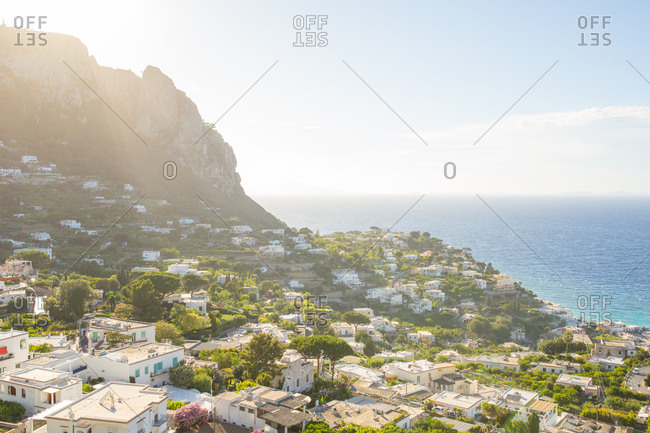 Landscape of capri