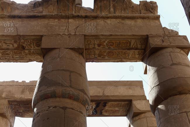 September 11, 2019: Egypt karnak