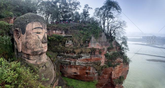 September 11, 2019: Sichuan leshan giant Buddha