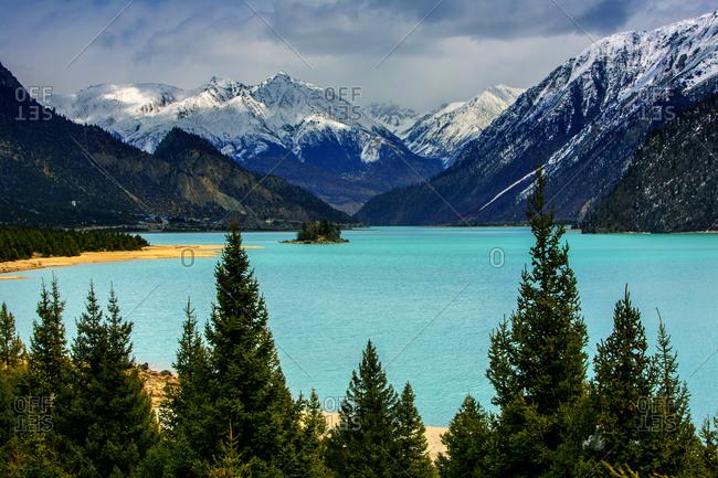 However lake in Tibet