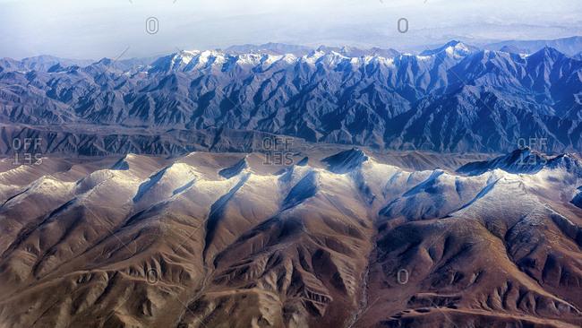 Xinjiang mountain scenery