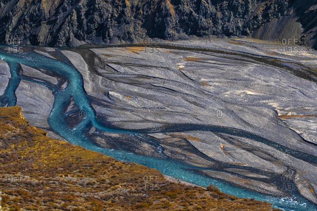 Ann set sea canyon in xinjiang
