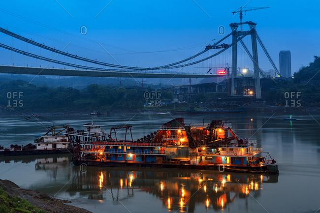 September 11, 2019: Several Jiang Changjiang bridge built in chongqing
