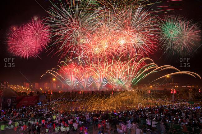 September 11, 2019: Chongqing folk Lantern Festival