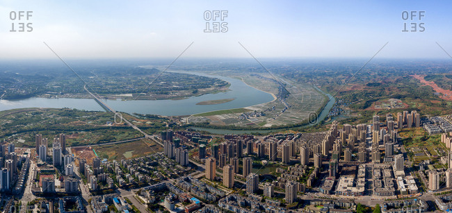 Chongqing model. Flood-control of urban construction