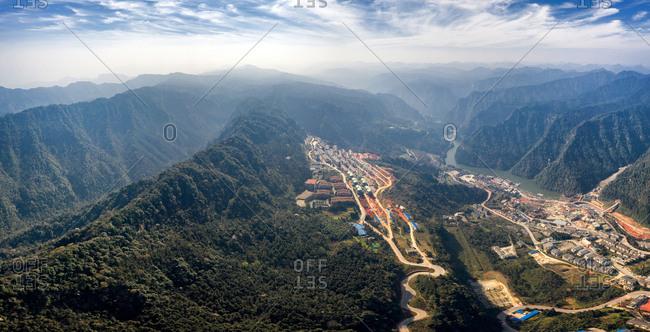 Chongqing mountain scenery