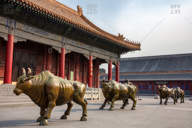 September 11, 2019: The armament of Beijing the imperial Palace Museum
